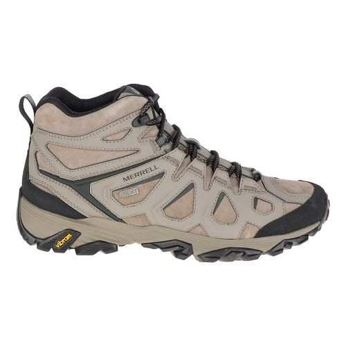 Mens Merrell Moab Fst Ltr Mid Waterproof Hiking Shoe - Boulder 10.5