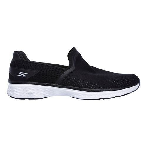 Mens Skechers GO Walk Sport Casual Shoe - Black/White 10