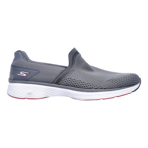 Mens Skechers GO Walk Sport Casual Shoe - Charcoal 9
