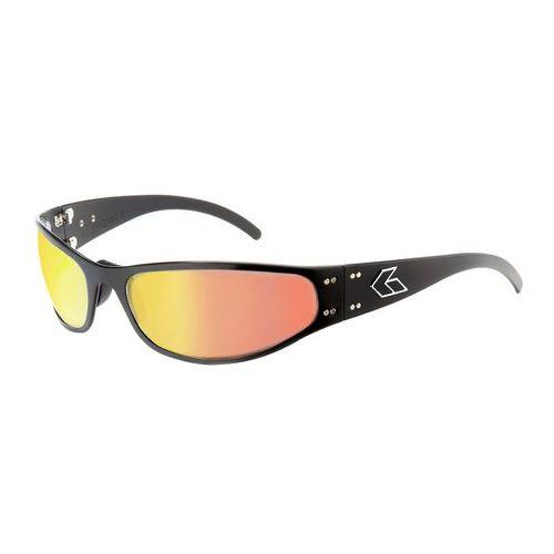 Mens Gatorz Radiator Sunglasses - Black/Sunburst
