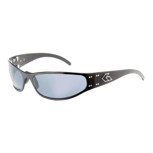 Mens Gatorz Radiator Sunglasses - Black/Polarized