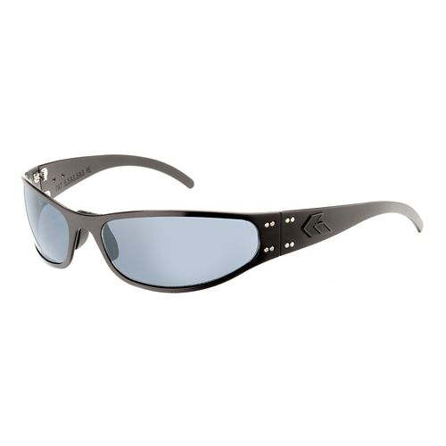Mens Gatorz Radiator Sunglasses - Blackout/Polarized