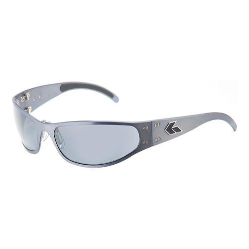 Mens Gatorz Radiator Sunglasses - Gun Metal/Polarized