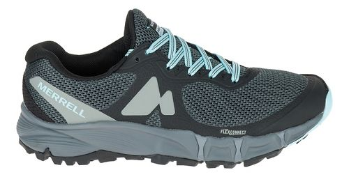 Womens Merrell Agility Charge Flex Trail Running Shoe - Black 10