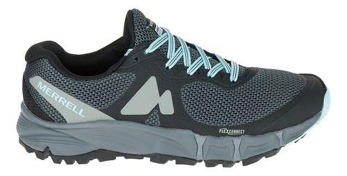 Womens Merrell Agility Charge Flex Trail Running Shoe - Black 7