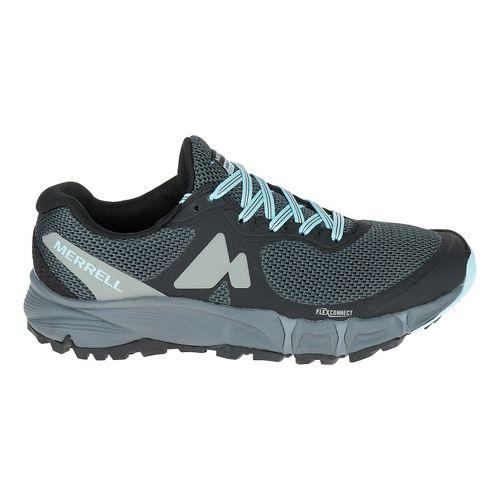 Womens Merrell Agility Charge Flex Trail Running Shoe - Black 6.5