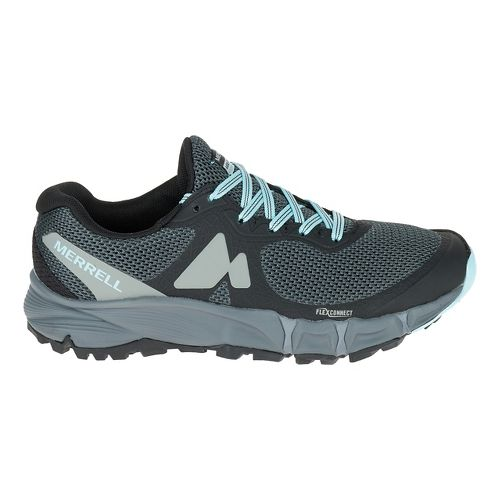 Womens Merrell Agility Charge Flex Trail Running Shoe - Black 7