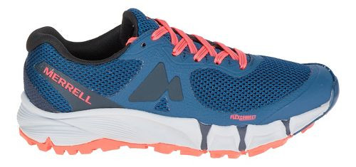 Womens Merrell Agility Charge Flex Trail Running Shoe - Navy 10
