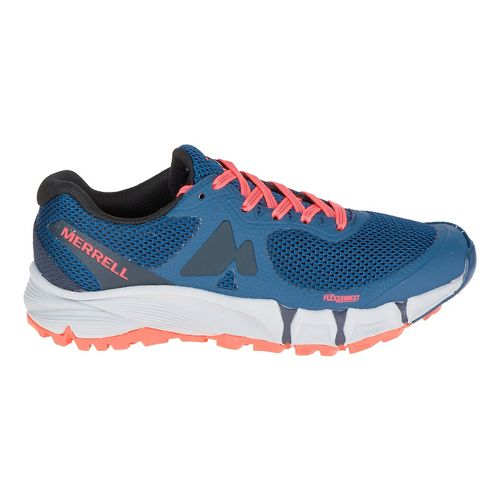 Womens Merrell Agility Charge Flex Trail Running Shoe - Navy 7.5
