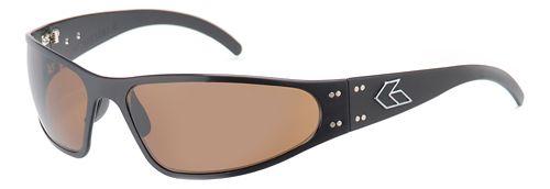 Mens Gatorz Wraptor Sunglasses - Black/Brown