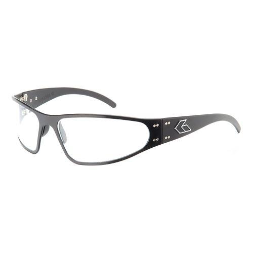 Mens Gatorz Wraptor Sunglasses - Black/Clear