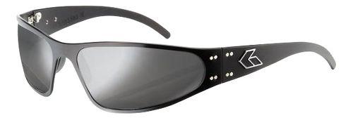 Mens Gatorz Wraptor Sunglasses - Black/Chrome