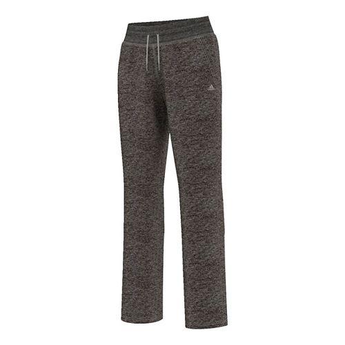 Womens Adidas Team Issue Fleece Dorm Pants - Dark Grey Heather L