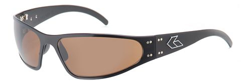 Mens Gatorz Wraptor Sunglasses - Brown/Polarized