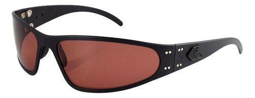 Mens Gatorz Wraptor Sunglasses - Black/Rose Polarized