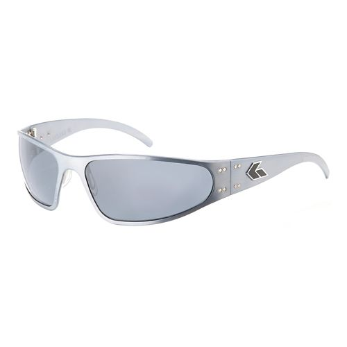 Mens Gatorz Wraptor Sunglasses - Gun Metal/Polarized