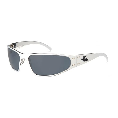 Mens Gatorz Wraptor Sunglasses - Polished/Polarized
