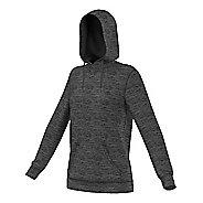 Womens Adidas Team Issue Fleece Pullover Half-Zips & Hoodies Technical Tops