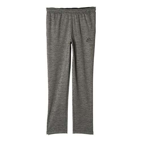 Womens Adidas Team Issue Fleece Tapered Pants - Dark Grey Heather L