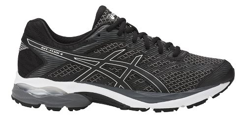 Mens ASICS GEL-Flux 4 Running Shoe - Black/Silver 15