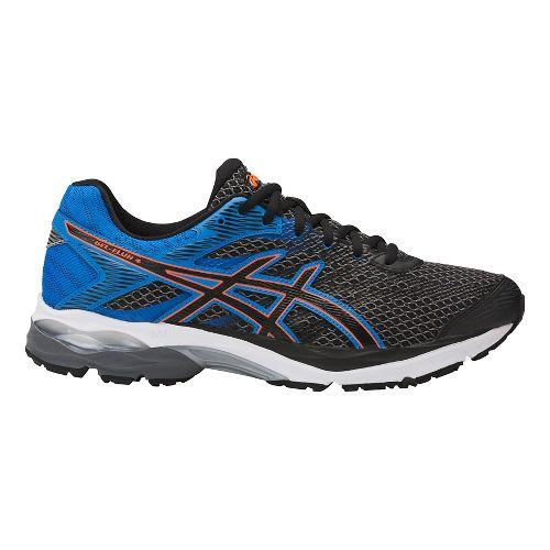 Mens ASICS GEL-Flux 4 Running Shoe - Carbon/Blue 7