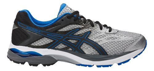 Mens ASICS GEL-Flux 4 Running Shoe - Grey/Black 8