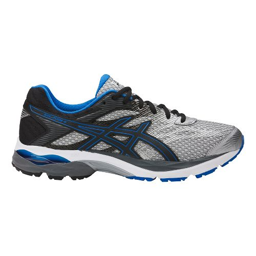 Mens ASICS GEL-Flux 4 Running Shoe - Grey/Black 15