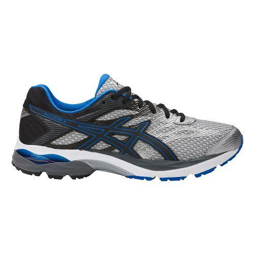 Mens ASICS GEL-Flux 4 Running Shoe - Grey/Black 7