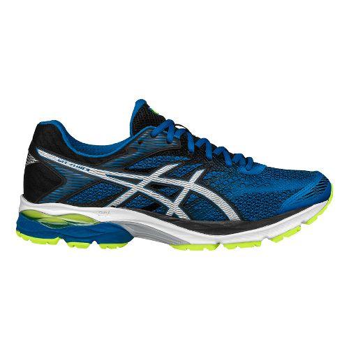 Mens ASICS GEL-Flux 4 Running Shoe - Blue/Black 14