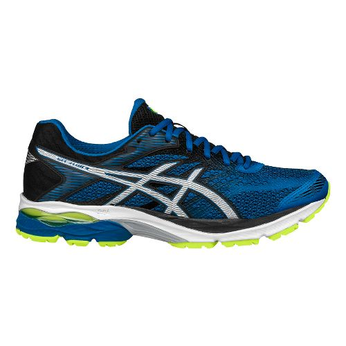 Mens ASICS GEL-Flux 4 Running Shoe - Blue/Black 7.5