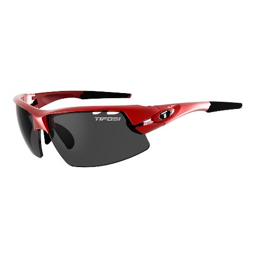 Tifosi Crit Interchangeable Lenses Sunglasses - Metallic Red M/L