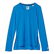 Womens Adidas Ultimate Sideslit Tee Long Sleeve Technical Tops