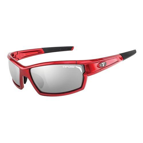 Tifosi Camrock Interchangeable Lenses Sunglasses - Metallic Red M/L
