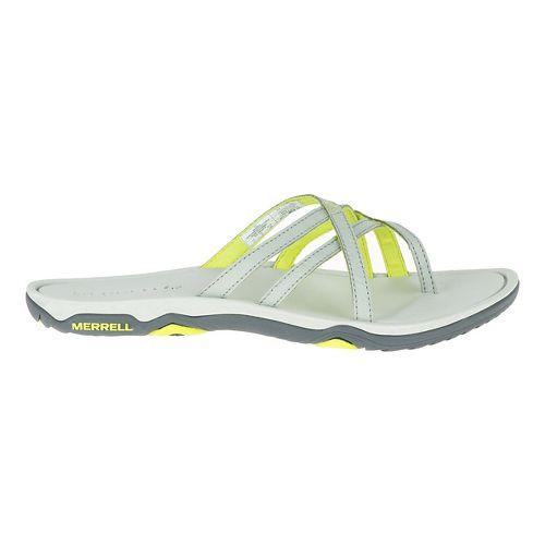 Womens Merrell Enoki 2 Flip Sandals Shoe - Ice 6