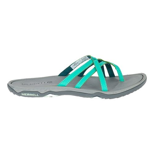 Womens Merrell Enoki 2 Flip Sandals Shoe - Atlantis 9