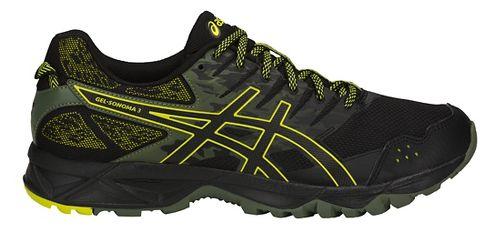 Mens ASICS GEL-Sonoma 3 Trail Running Shoe - Black/Sulphur 10.5