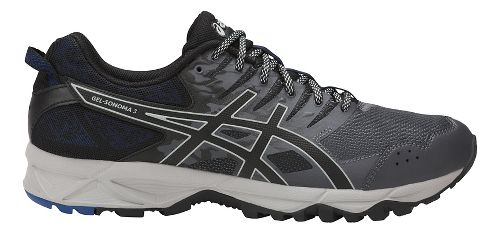 Mens ASICS GEL-Sonoma 3 Trail Running Shoe - Carbon/Black 9