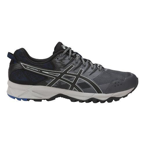 Mens ASICS GEL-Sonoma 3 Trail Running Shoe - Carbon/Black 6.5