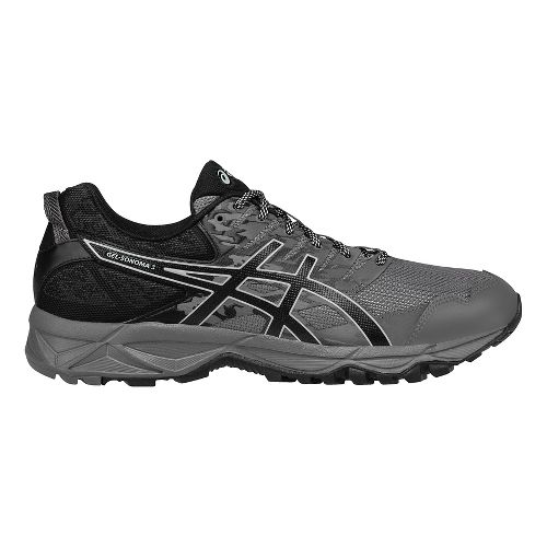 Mens ASICS GEL-Sonoma 3 Trail Running Shoe - Carbon/Grey 7