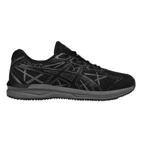 Mens ASICS Endurant Trail Running Shoe - Black/Carbon 8