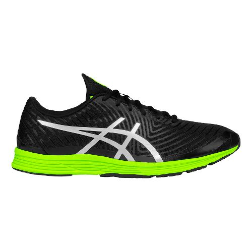 Mens ASICS GEL-Hyper Tri 3 Running Shoe - Black/Yellow 12