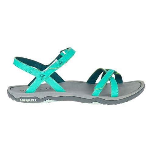 Womens Merrell Enoki 2 Strap Sandals Shoe - Atlantis 8