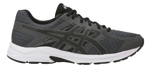 Mens ASICS GEL-Contend 4 Running Shoe - Dark Grey/Black 15