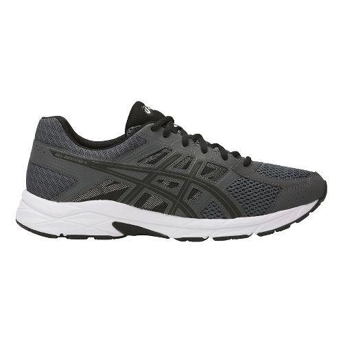 Mens ASICS GEL-Contend 4 Running Shoe - Dark Grey/Black 7