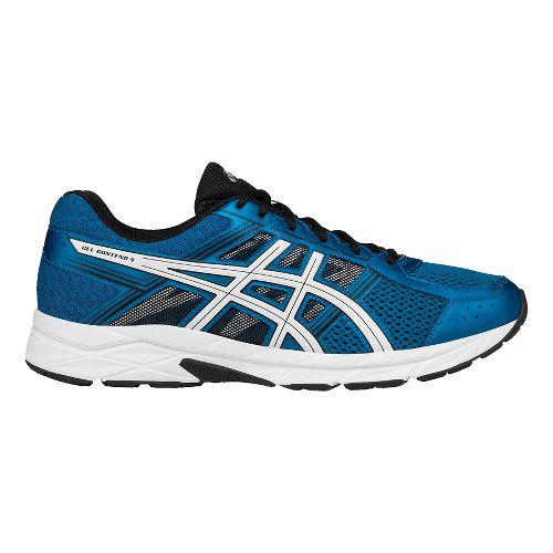 Mens ASICS GEL-Contend 4 Running Shoe - Blue/White 14