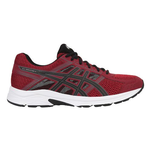 Mens ASICS GEL-Contend 4 Running Shoe - Wine/Black 15