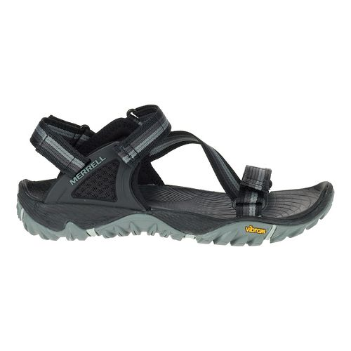 Womens Merrell All Out Blaze Web Hiking Shoe - Black 5
