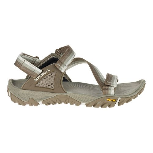 Womens Merrell All Out Blaze Web Hiking Shoe - Aluminum 6