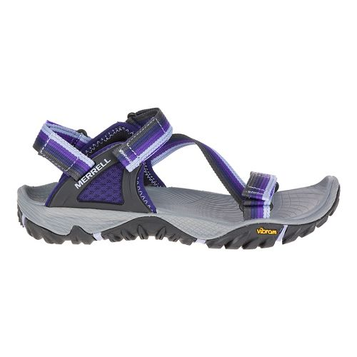 Womens Merrell All Out Blaze Web Hiking Shoe - Astral Aura 10