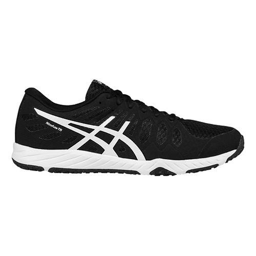Mens ASICS Gel-Nitrofuze TR Cross Training Shoe - Black/White 12.5